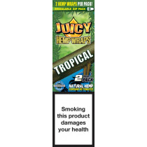 Blunty - Juicy Hemp Wraps Tropical